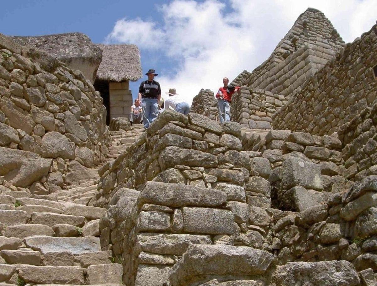 Mauern in Machu Picchu