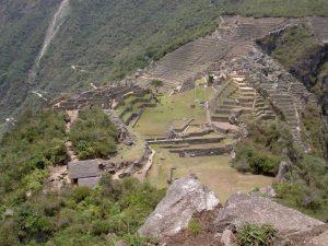 Terrassen in Machu Picchu