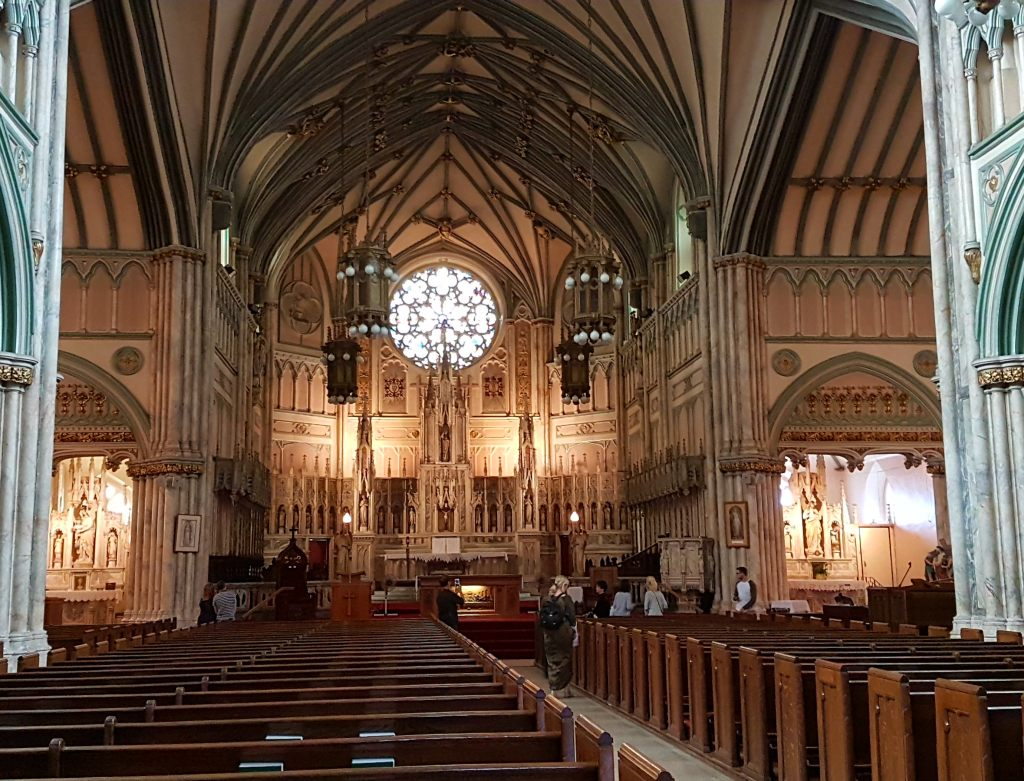 Die St. Dunstan's Basilika in Charlottetown., Prince Edward Island