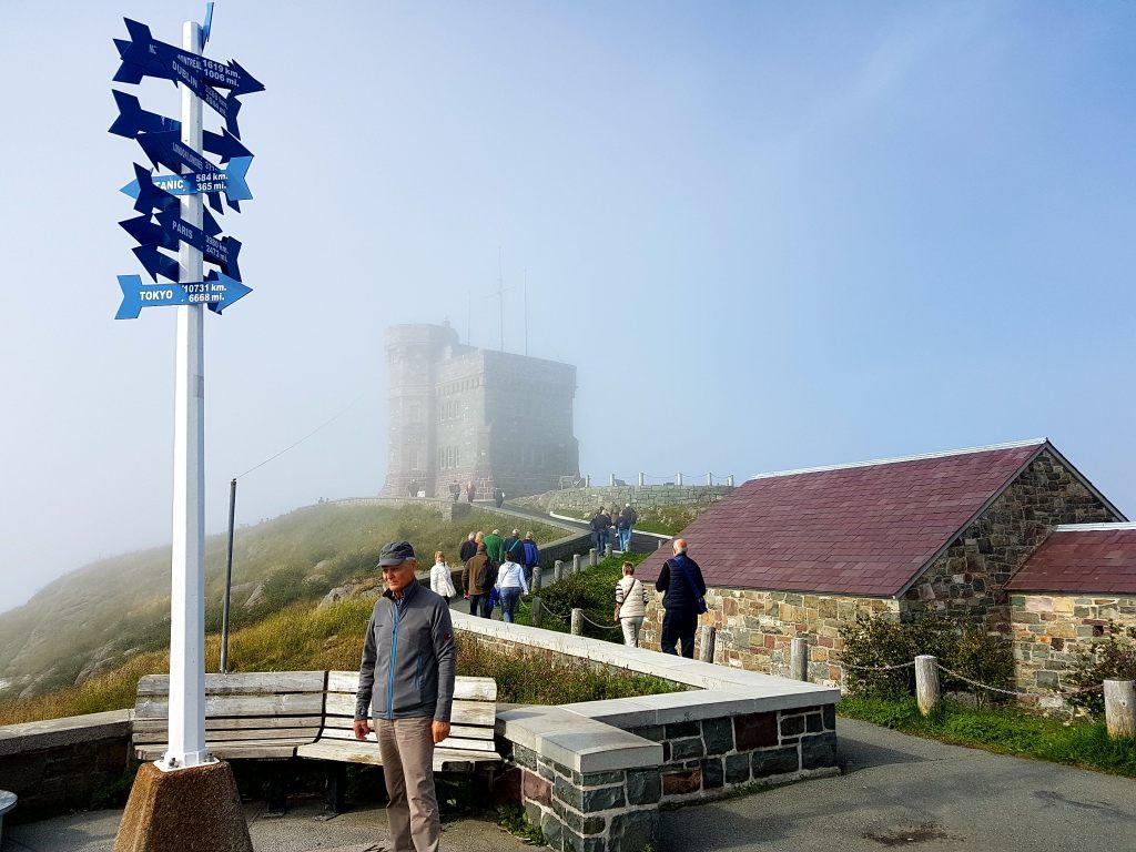 Nebel über St. John´s in Neufundland