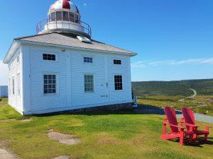 Leuchtturm von Cape Spear bei St. John`s in Neufundland.