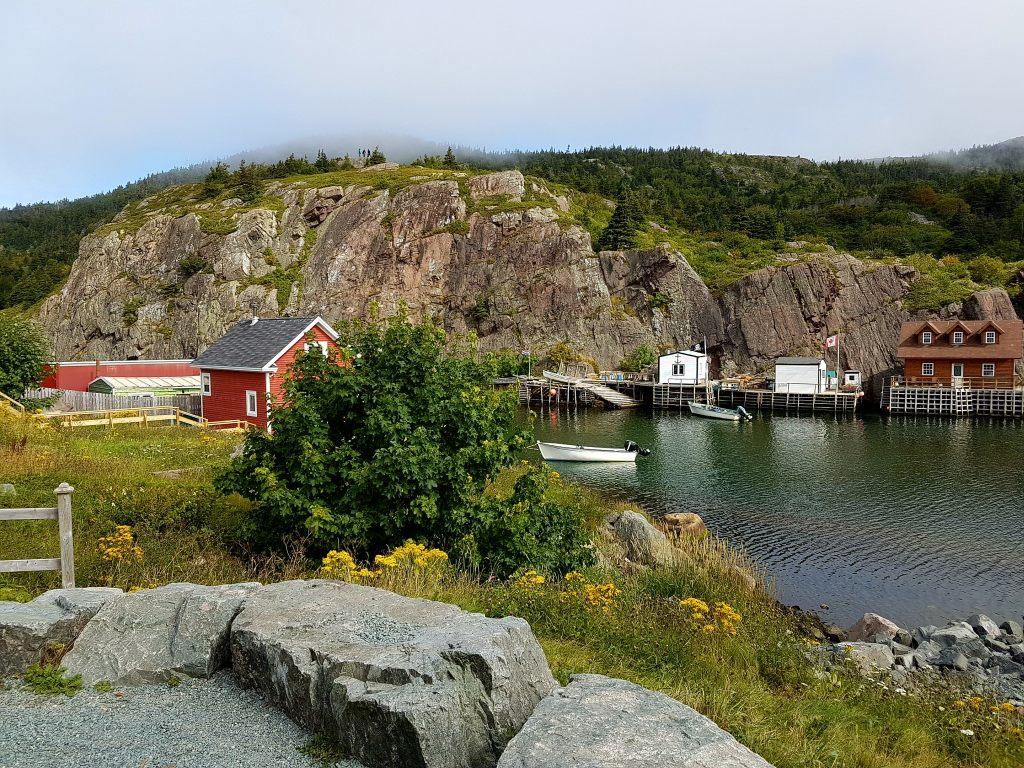 Das Fischerdorf Quidi Vidi in der Nähe von St. John´s in Neufundland.