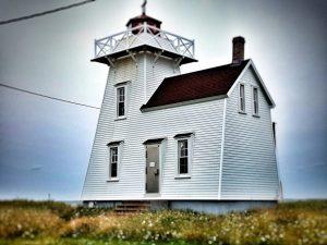 Der Leuchtturm von Rustico in Prince Edward Island