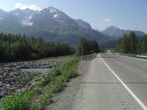 Spektakuläre Landschaft in Alaska