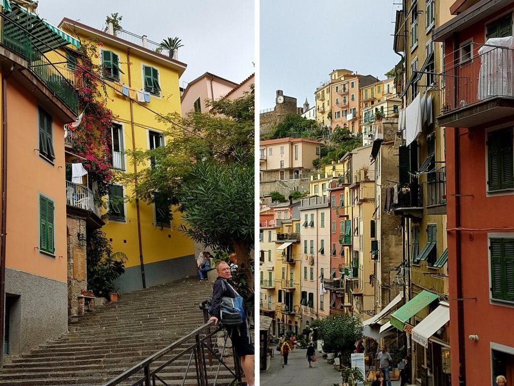 Riomaggiore in der Cinque Terre, Ligurien.