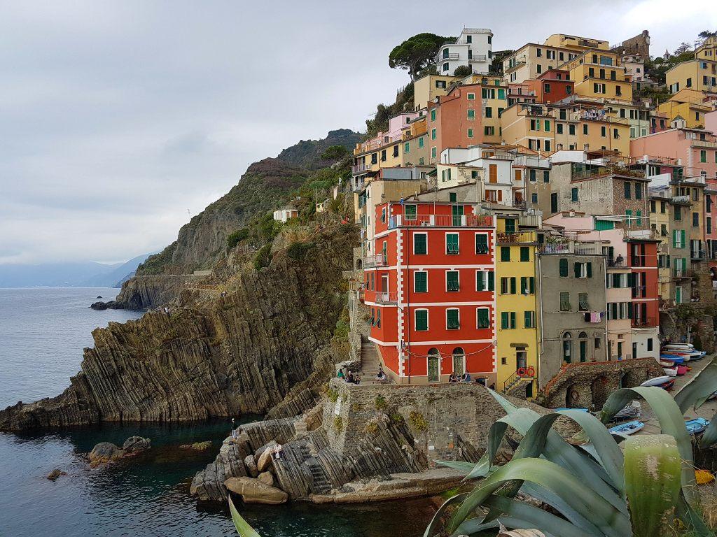 Riomaggiore in der Cinque Terre, Ligurien