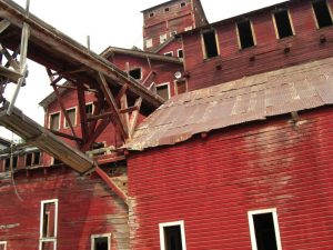 Die Kennicott-Mine im Osten Alaskas
