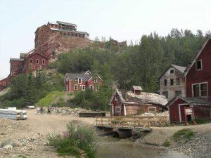 die Geisterstadt Kennicott in Alaska