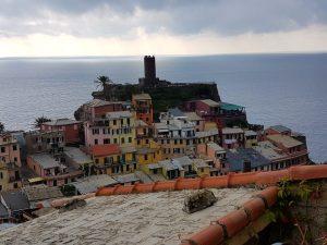Burg von Vernazza, Cinque Terre, Ligurien