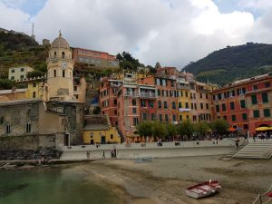 Vernazza in der Cinque Terre, Ligurien