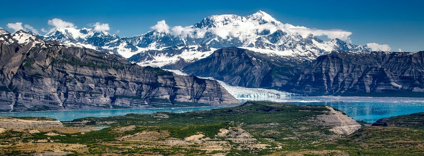 Der Wrangell-St. Elias Nationalpark in Alaska