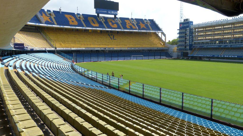 Das Stadion von Boca Juniors, la Bombonera