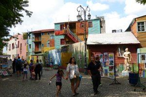 Stadtviertel La Boca in Buenos Aires