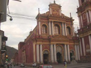 die Iglesia San Francisco in Salta, Argentinien