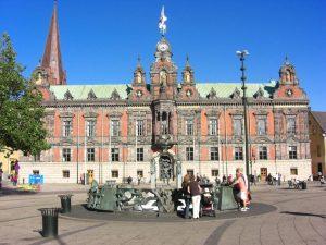 Rathaus von malmö in Schonen, Schweden.