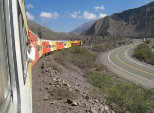 der Tren a las Nubes in Argentinien