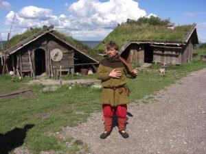 Das Wikinger-Museum Foteviken in Schonen, Schweden