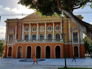Das Teatro da Paz im brasilianischen Belém