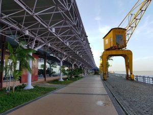 Estaçao das Docas, die einstigen Lagerhallen am Hafen von Belem