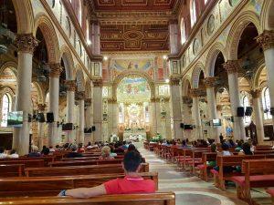 Innenraum der Basílica de Nossa Senhora de Nazaré im brasilianischen Belém