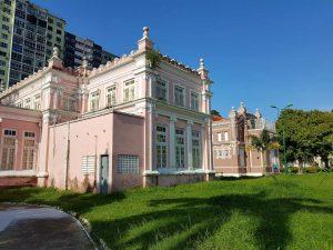beim Teatro da Paz im brasilianischen Belém