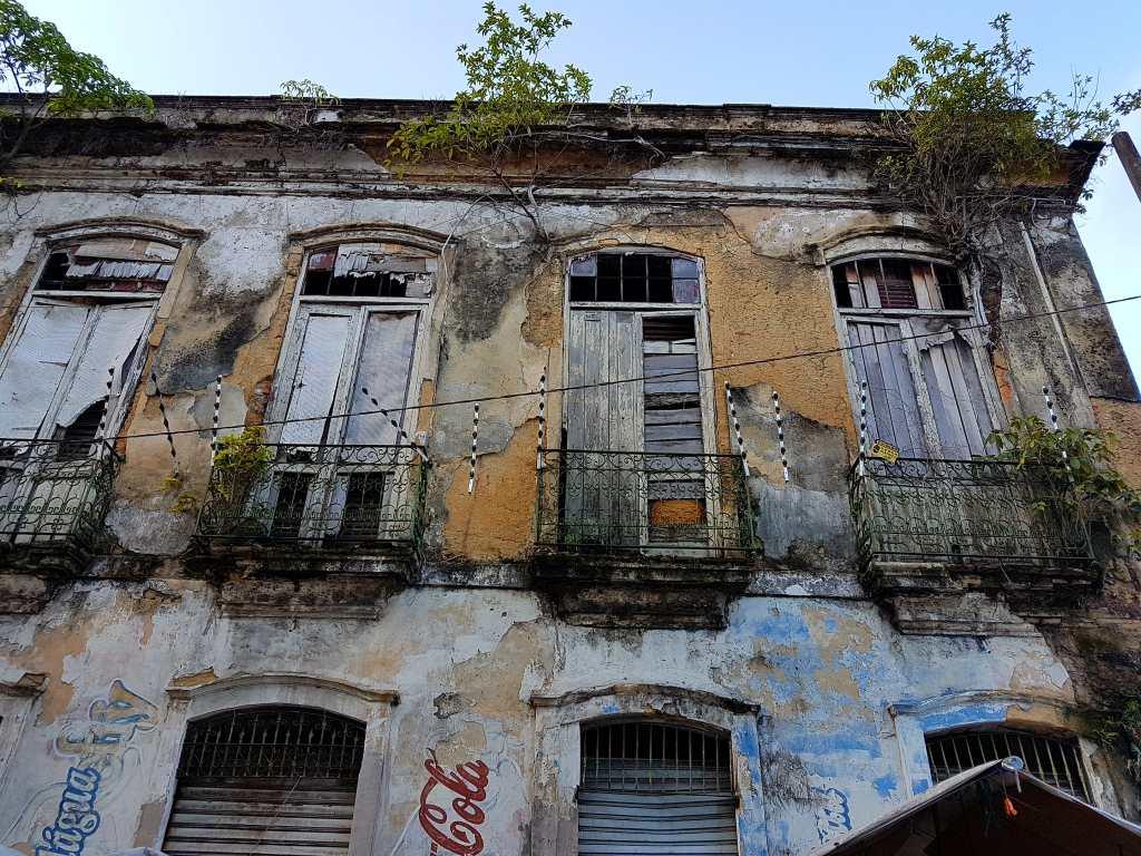 verfallenes Haus im brasilianischen Belém