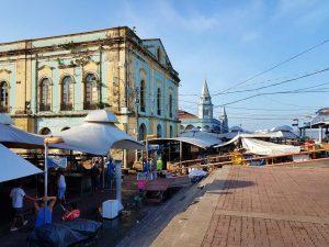 die Markthallen Ver-o-Peso im brasilianischen Belém.