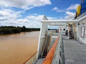 Breves-Känäle im Delta des Amazonas.