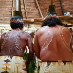 Indianer der Huitoto am Oberlauf des Amazonas