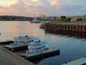 Der Hafen von Manaus, Brasilien
