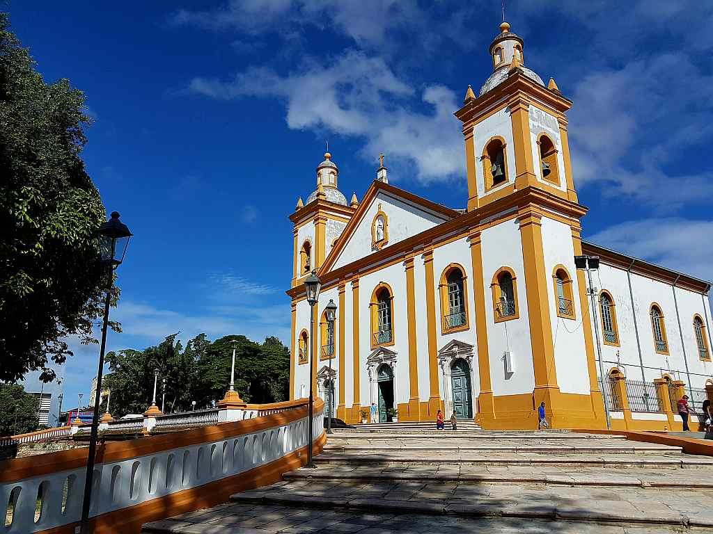 die Kathedrale von Manaus, Brasilien