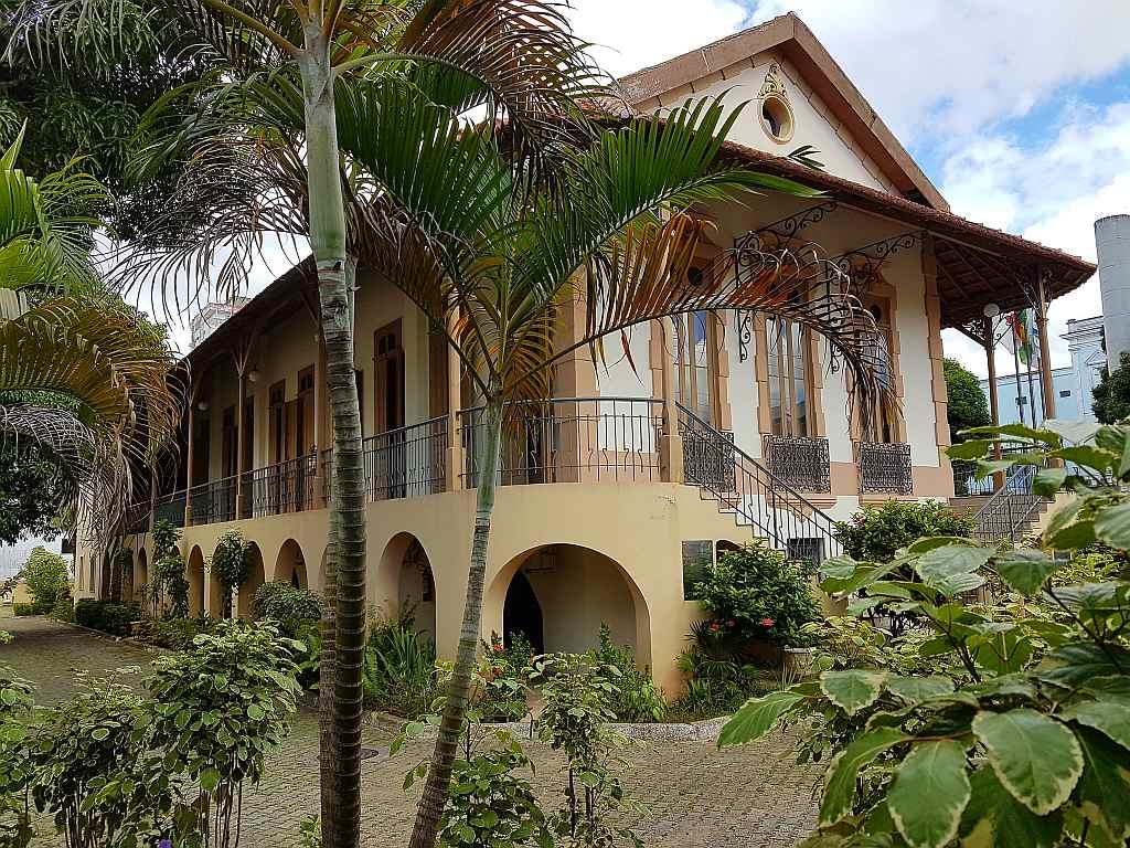 Kolonialgebäude in Manaus, Brasilien