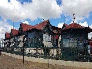 Markthalle in Manaus, Brasilien