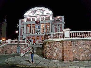 das Teatro Amazonas in Manaus, Brasilien.