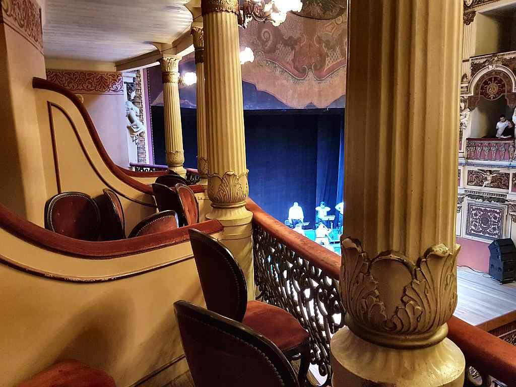 Innenraum des Teatro Amazonas in Manaus, Brasilien