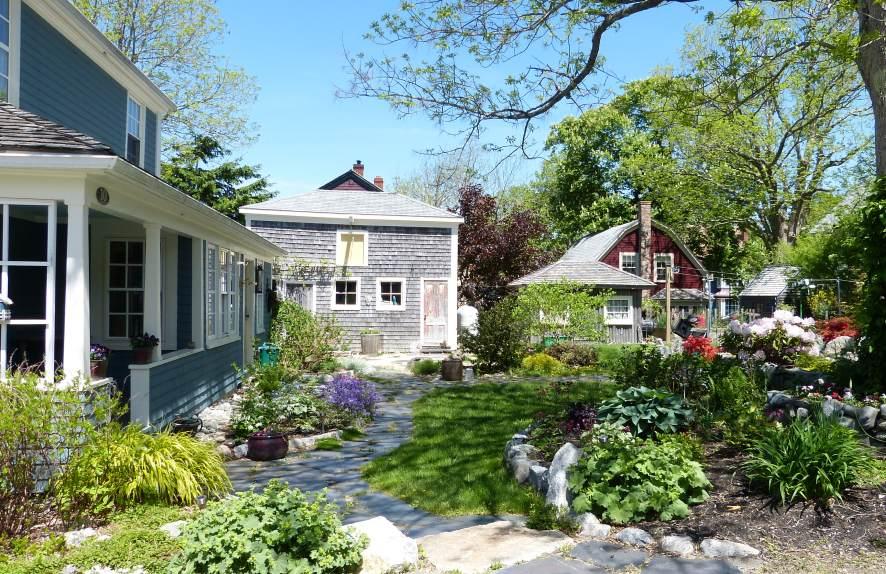 Gepflegte Kleinstadtidylle in Nova Scotia, Kanada