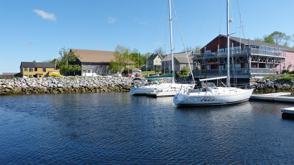 Küstenort in Nova Scotia, Kanada