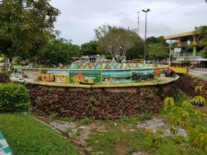 Denkmal in Parintins, Brasilien