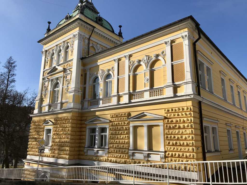 das Hotel Nové Lázné in Marienbad, Tschechien