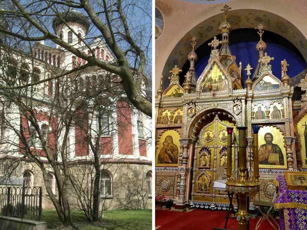 die orthodoxe Kirche von Marienbad, Tschechien