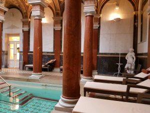 Das römische Bad in Marienbad, Tschechien