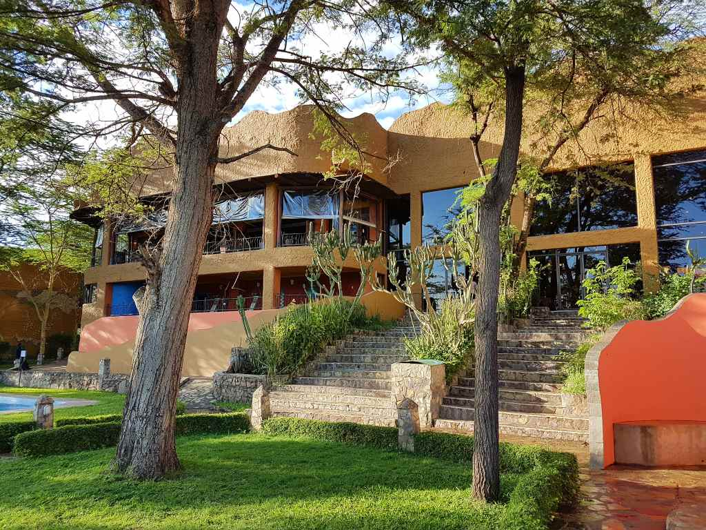 Die Sopa-Lodge in der Serengeti, Tansania