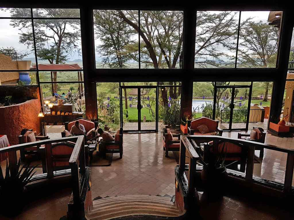 Die Sopa-Lodge in der Serengeti, Tansania