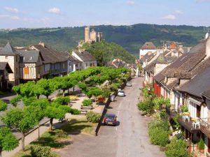 Ort in den Cevennen, Frankreich