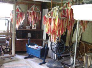 Zier für den Fahnenmast, gesehen in einem Museum auf Åland, dem Schärenparadies in der Ostsee