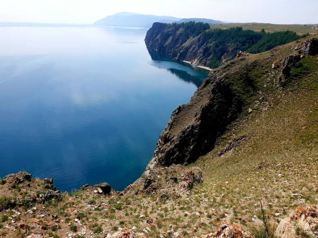 am nördlichsten Punkt der russischen Insel Olchon im Baikalsee