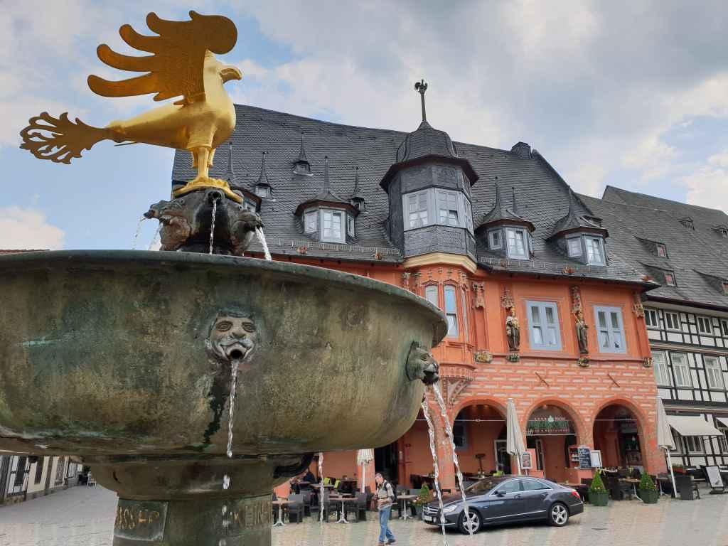 Martktplatz in Goslar im Harz