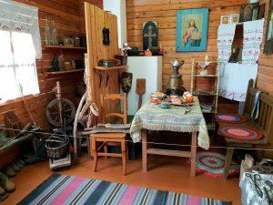 Das Heimatmuseum von Khuzhir der Insel Olchon im sibirischen Baikalsee., Russland