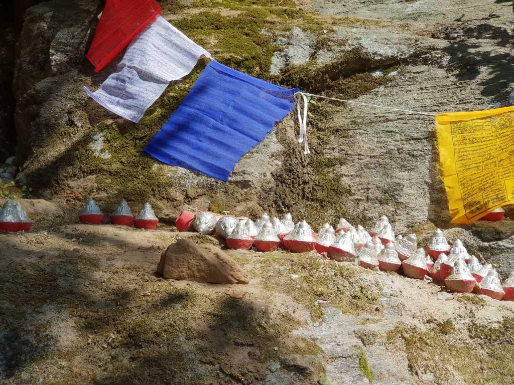am Weg zum Tigernest-Kloster oberhalb des Paro-Tales in Bhutan.