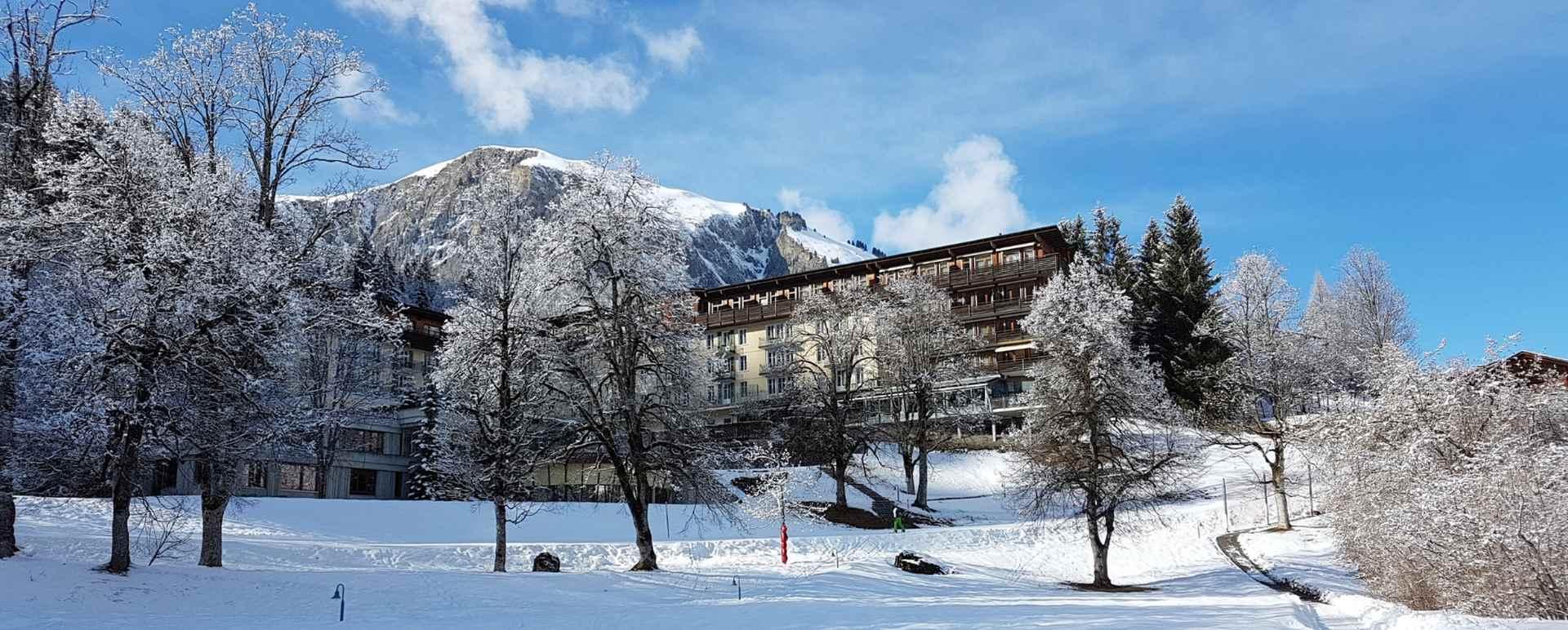 Das Hotel Lenkerhof im schweizerischen Simmental